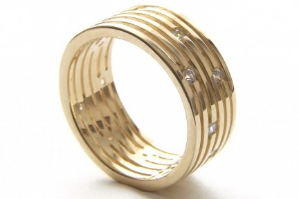 ARTES-Pierścionek złoty 511 PR. 585