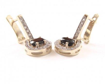 ARTES-Kolczyki złote 504 PR. 585