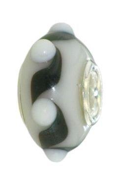Koralik,zawieszka modułowa srebrna 925