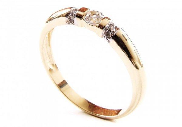 ARTES-Pierścionek złoty 565 PR. 585
