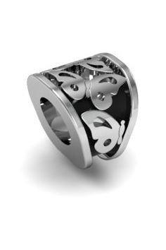 Koralik zawieszka modułowa srebro 925