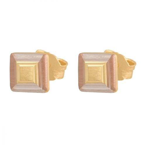 Kolczyki złote 585 sztyft - 20038