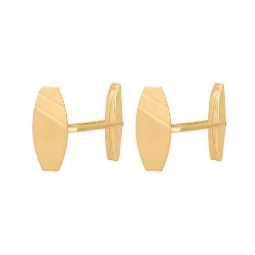 Złote spinki do mankietów 585 - 21867