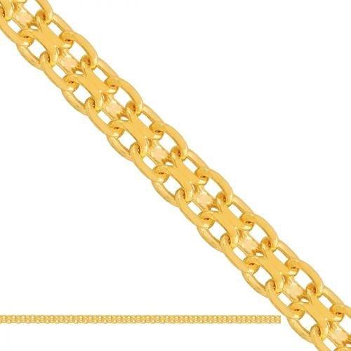 Łańcuszek złoty 585 - Ld230