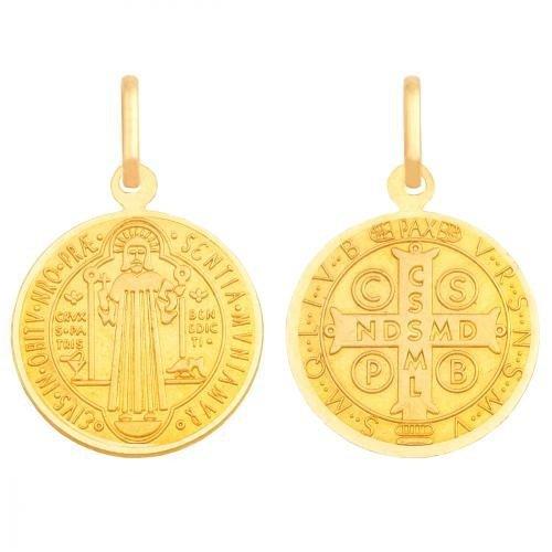 Medalik złoty 585 - 28073