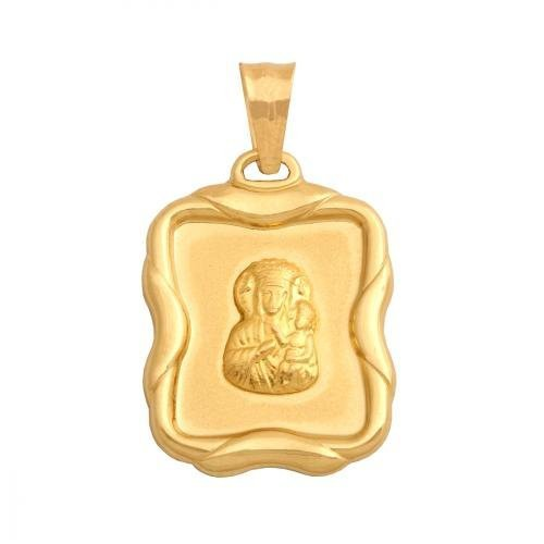 Medalik złoty 585 - 28547