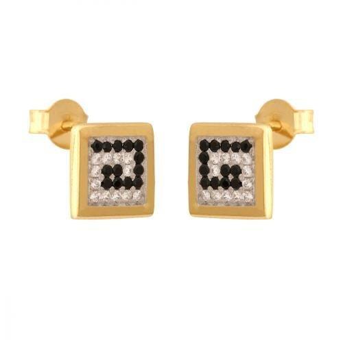 Kolczyki złote 585 sztyft - 28725