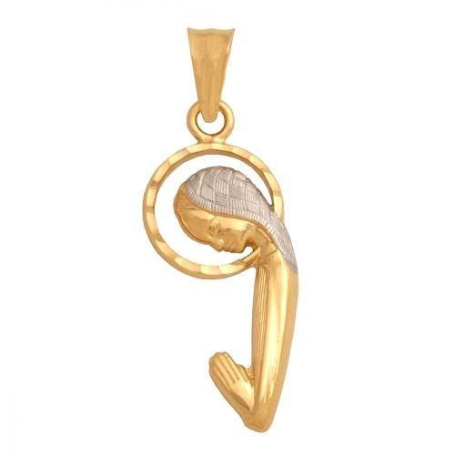 Medalik złoty 585 - 29033