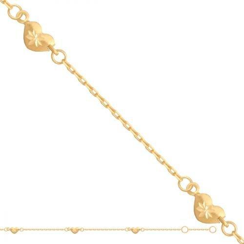Bransoletka złota, damska 585 - 29390