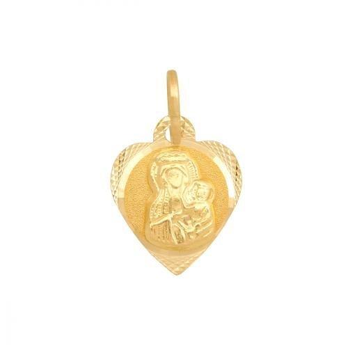 Medalik złoty 585 - 30537