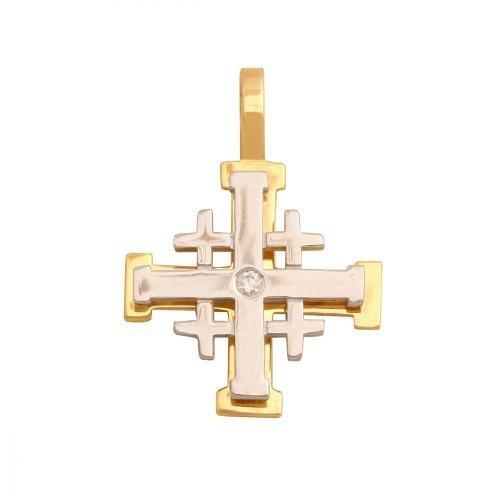 Krzyżyk złoty 585 - 31202