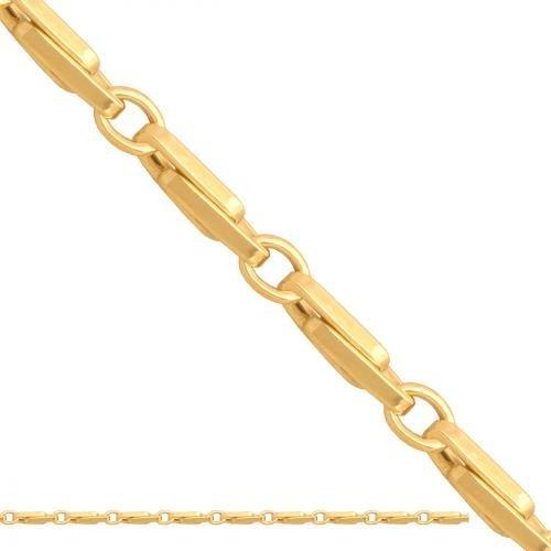 Łańcuszek złoty 585 - Ld248