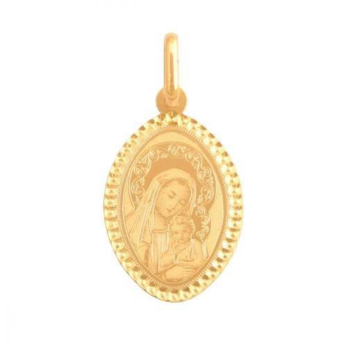 Medalik złoty 585 - 35276