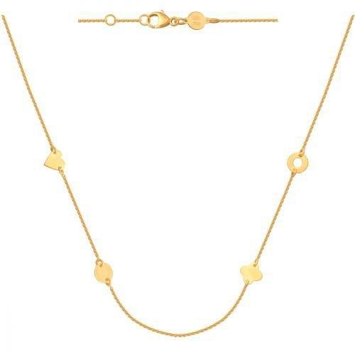Celebrytka, naszyjnik, łańcuszek ze złota 585 - 37776