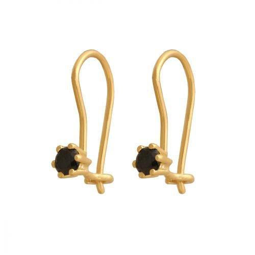 Kolczyki złote 585 wiszące - 38014
