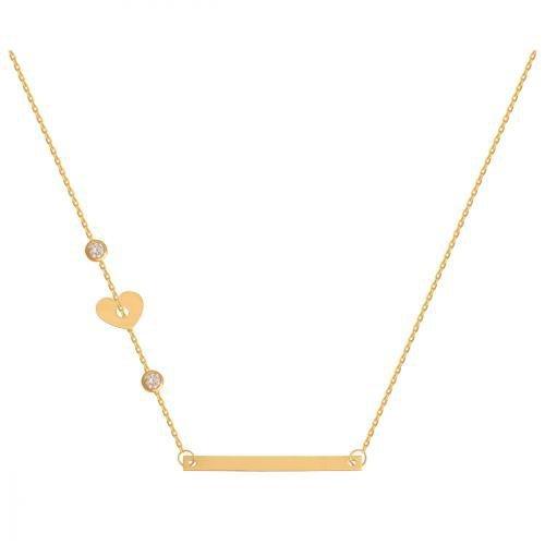 Celebrytka, naszyjnik, łańcuszek ze złota 585 - 42355