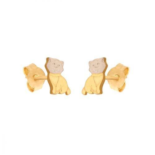 Kolczyki złote 585 sztyft - 42423