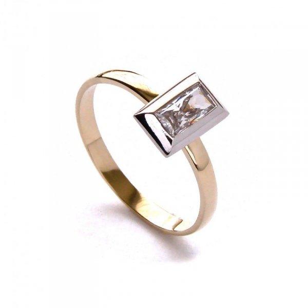 ARTES-Pierścionek złoty PR. 585