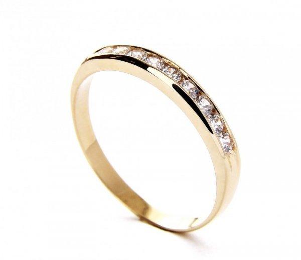 Pierścionek złoty obrączka 585