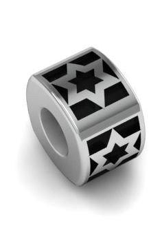 Koralik charms zawieszka modułowa srebro 925 Gwiazda