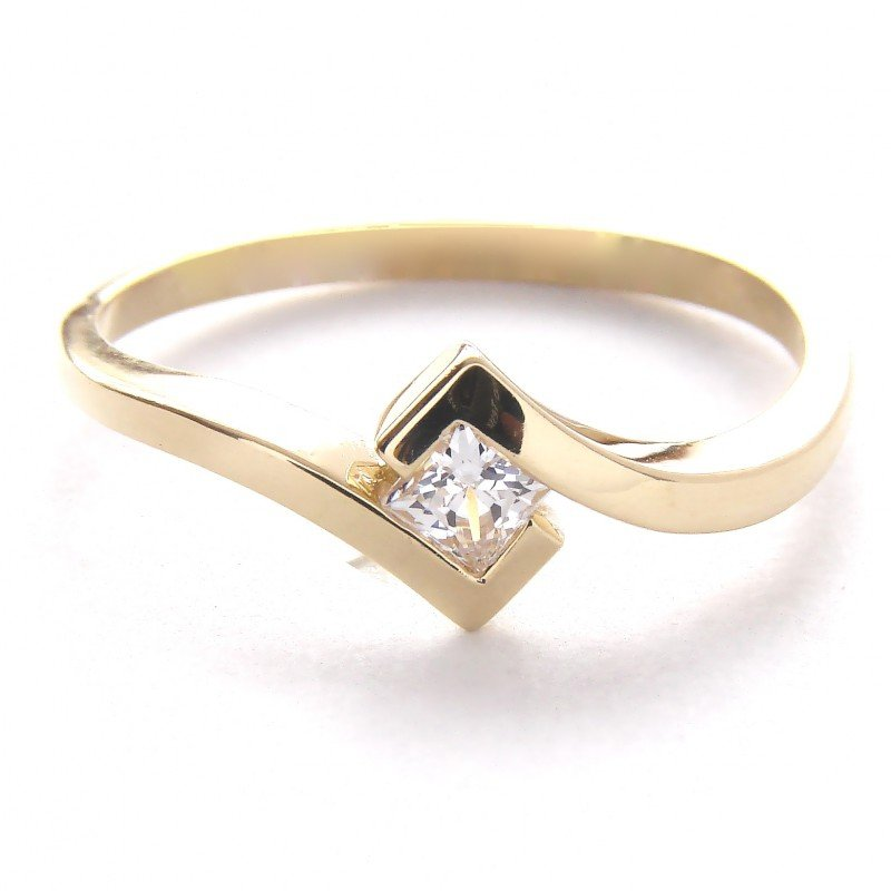 Pierścionek złoty 585 zaręczynowy PROMOCJA! 24H