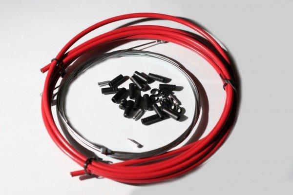 GUBbike-Zestaw Przerzutkowy kolor-czerwony(2012)