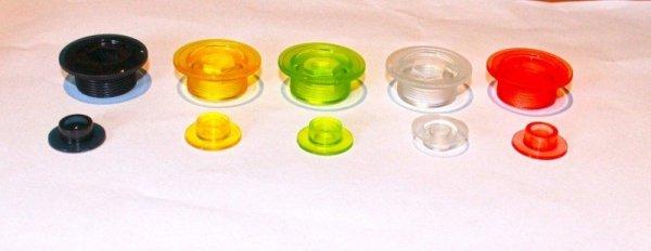 GUBbike-kompozytowa śruba do korb Shimano 5 kolorow (2012)