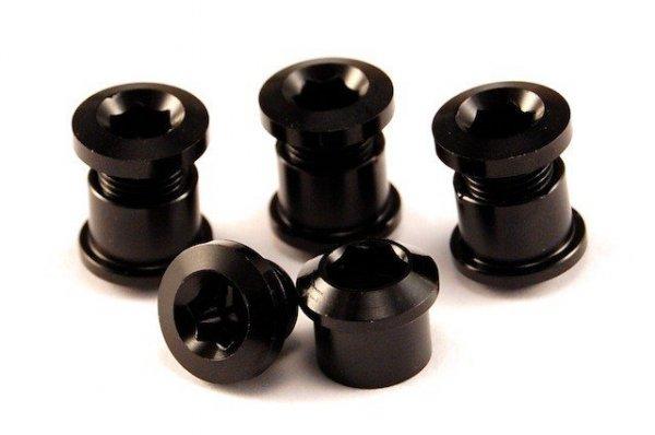 Aluminiowe śruby do korb z kominami kolor-czarny (2012)