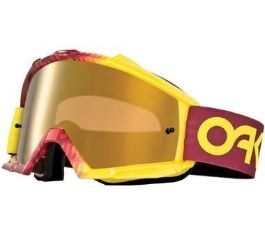 Gogle-Oakley Proven MX Fac. Fade Red/Yel wFireIrid lustro (2014)