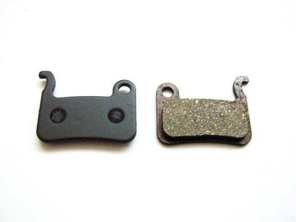 Klocki-półmetaliczne A2Z do shimano XTR/XT/Saint/Deore (2012)