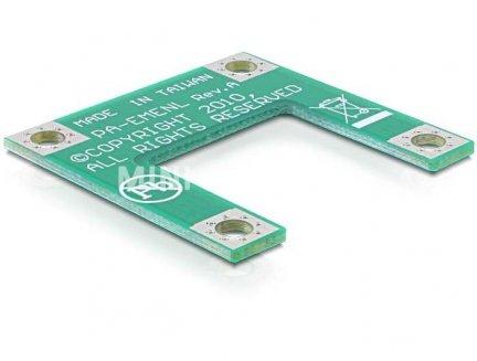 Adapter MiniPCIe Half-size do Full-size PCB Delock