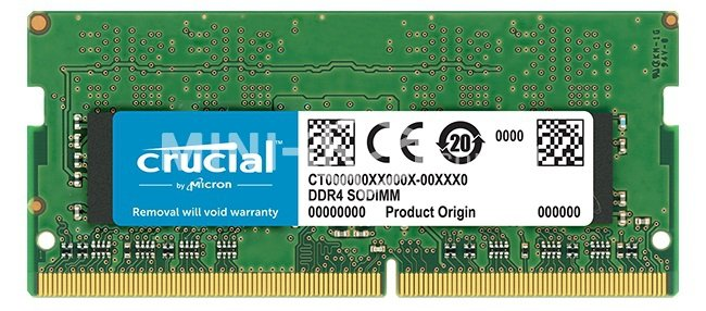 Crucial SO-DIMM 4GB 2666MHz DDR4 CT4G4SFS8266