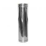 Poujoulat Rura spalinowa dwuścienna 80/125 500 mm
