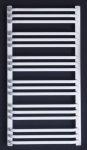 Grzejnik łazienkowy Enix AT 550x1040 drabinka biała