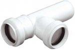 Trójnik kanalizacyjny PCV Fi 32 - kąt 90'