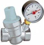 Reduktor ciśnienia wody 1/2 z manometrem
