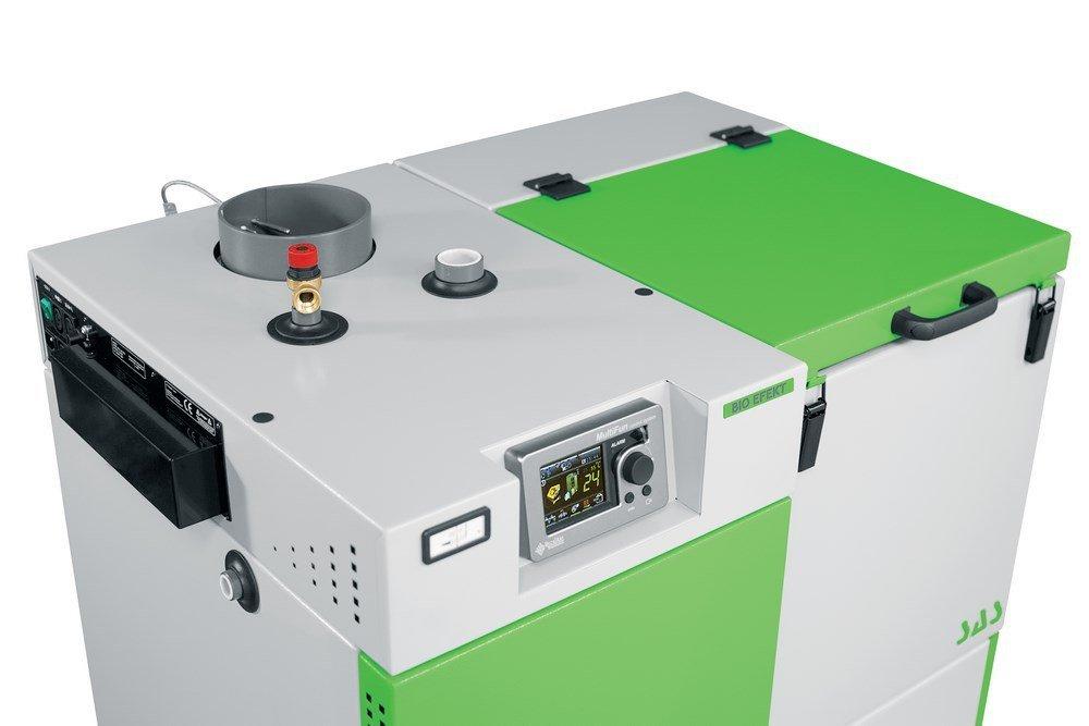 Super SAS BIO EFEKT 29 kW KOCIOŁ NA PELLET Z PODAJNIKIEM FF56