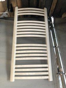 Grzejnik łazienkowy Kermit 58x120 biały obity