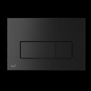 Alcaplast M578 przycisk spłukujący WC czarny mat płaski
