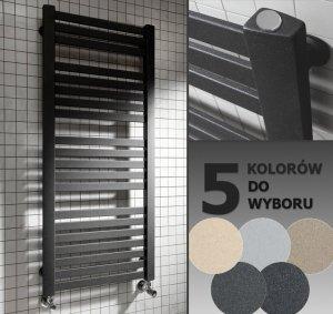 Grzejnik łazienkowy Gorgiel Nadir dr 565x1410 kolorowy dekoracyjny