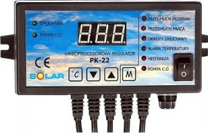 Sterownik pieca CO Regulator kotła PK-22