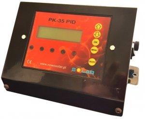 Sterownik do pieca z podajnikiem PK-35 PID (co, cwu, dmuchawa, podajnik)