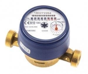 Bmeters GSD8 Wodomierz licznik zimnej wody 3/4 Js 4,0