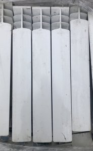 Grzejnik aluminiowy G500F żeberko Armatura