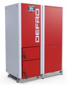 Defro Gamma 10 kW automatyczny kocioł peletowy do 125 m2