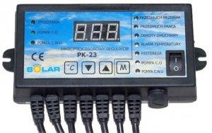 Sterownik do pieca pk-23 Regulator pompy co+cwu+dmuchawa