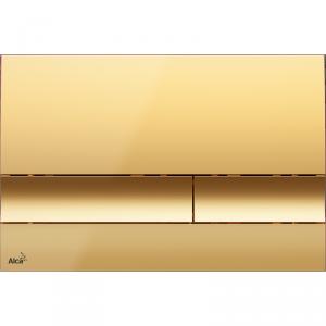 Alcaplast M1725 przycisk spłukujący WC złoty połysk