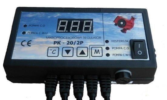 Sterownik dwóch pomp co pk-20/2p antystop