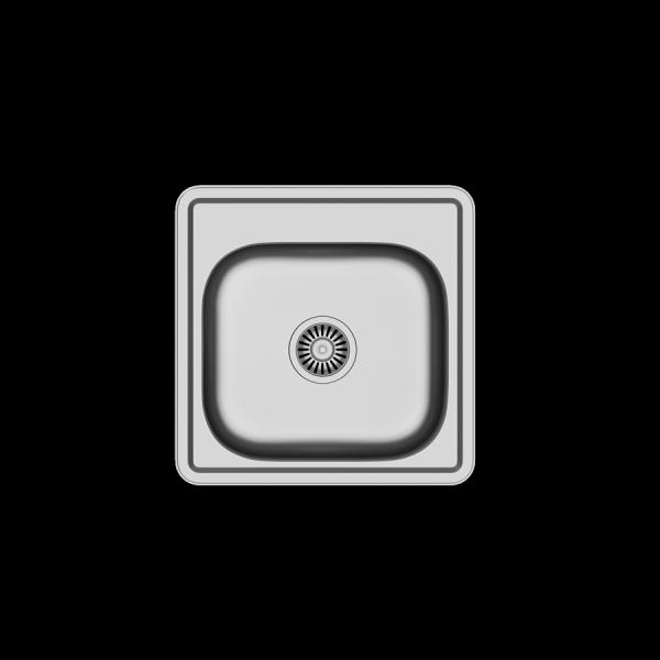 Zlewozmywak kuchenny Joe 110 48x48 1-komorowy +syfon