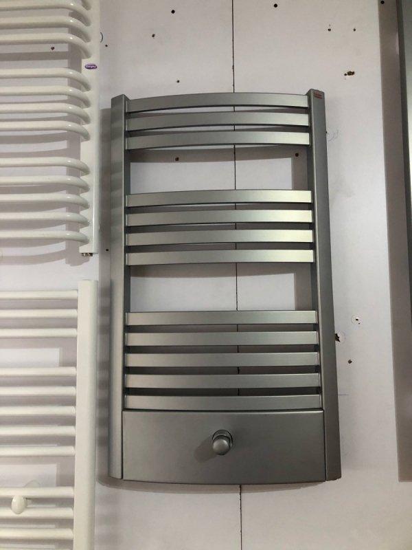 Terma Dexter Pro 500x860 silver grzejnik łazienkowy